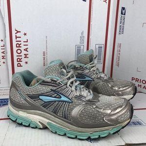 Brooks Womens Ariel 1 Grey Running Shoes Size 9.5